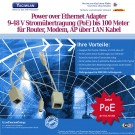 Wifi Power over Ethernet (PoE) injector Adapter