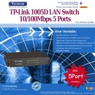 LAN Switch 10/100Mbps 5 Port TP-Link SF1005D