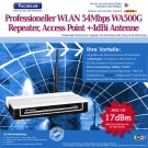 WLAN Router / Access Point TP-Link Repeater TL-WA500G 3dBi Antenne RP-SMA