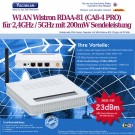 5GHz WLAN Router Wistron RDAA-81 (CA8-4 PRO) 108Mbps 3dBi Antenne