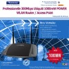 WLAN Router / Access Point Ubiquiti 300Mbps und 1000mW Sendeleistung 2 x 5dBi Antenne