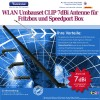FritzBox und Speedport Umbaset 7dBi CLIP WLAN Antenne